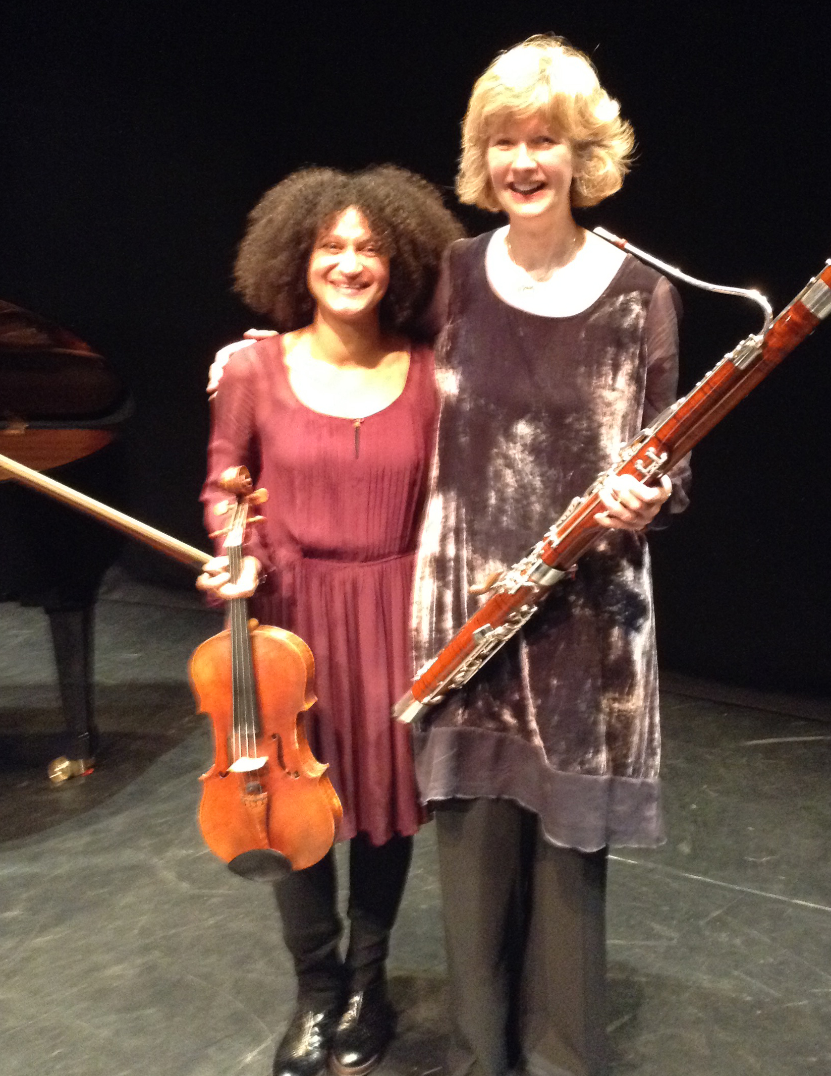 Jane Atkins Viola, Alison Green Bassoon